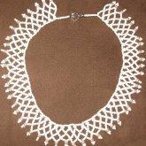 White Pearl Victorian Collar