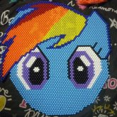 RainbowDash Face Mat