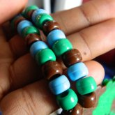 Beads On The Tony Turtle Necklacce