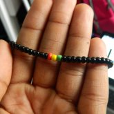 Rasta Seed Bead Single
