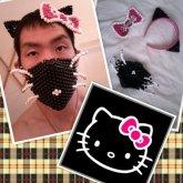 Black Hello Kitty Set