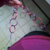 'berry' Hip Chain