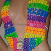 Rainbow Kandi Top Inspired By Lisa Frank