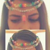 Glitter Kandi Hair Piece