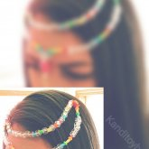 Pink Mermaid  Kandi Hair Piece