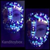 Purple Glow Kandimask