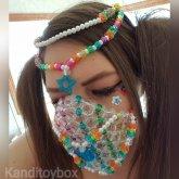 Glitter Goddess Kandi Mask
