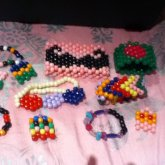 My Very Small But No Where Near Uncompleted Kandi Collection