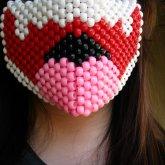 Boo Half Mask