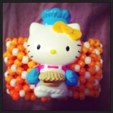 Hello Kitty Orange Extended X-base Cuff ^_^