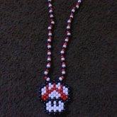 Mario Mushroom Necklace :3
