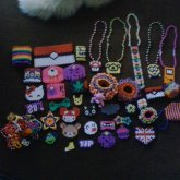Some Of My Peyotes And Cuffs :3 Not All Though Cx