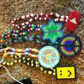 Perler Necklaces