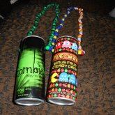 Energy Drinks Put On Necklaces