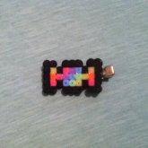 Fuse Bead Candy Hair Clip