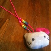 My Hello Kitty  Necklace! :3
