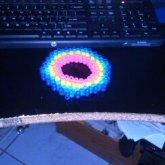 Neon 3D Kandi Ladder