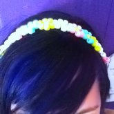 Peyote Flower Headband