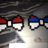 Pokemon Pokeball Bows.