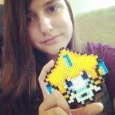 Pokemon Perler Bead Creation