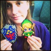 Legend Of Zelda Perler Bead Creations