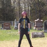 Kandi In The Cemetery XD
