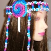 Lollipop Kandi Headband