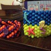 Button And Sea Button Cuffs