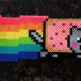 Nyan Cat Fuse Bead