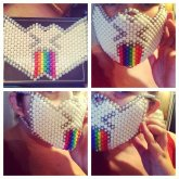 """Puking Rainbows"" Mask ????????"