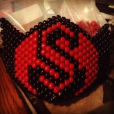 "Custom Design ""Strange Music"" Kandi Mask ?????"