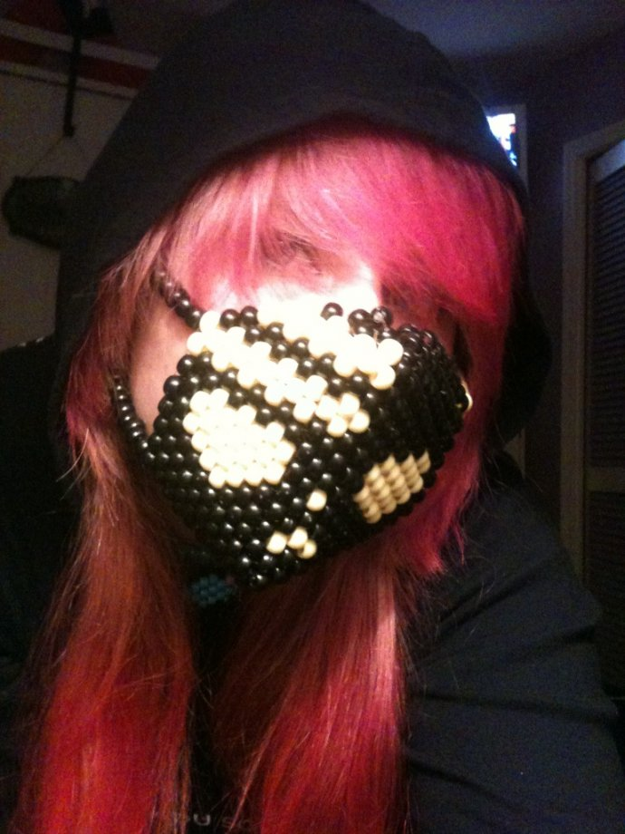 soul eater, death the kid mask by XxKandiAngelxX - Kandi Photos on ...
