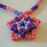 Pink And Purple Star Necklace