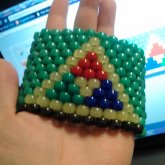 Tricolor Triforce Cuff Side 1