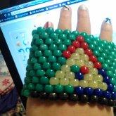 Tricolor Triforce Cuff Side 2