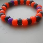Purple , Orange & Black Single
