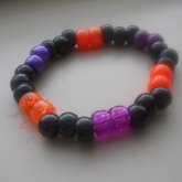 Purple , Orange & Black Single 2