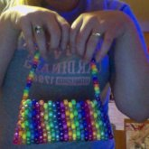 Party-size Kandi Purse