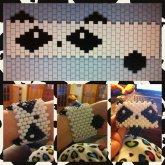 Panda Kandi Kuff Inspired By Meely Moo's Pattern