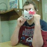 Hello Kitty Mask