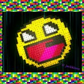 Awesome Face Perler