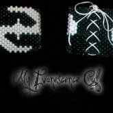 Front And Back Of My Evanescence Cuff.