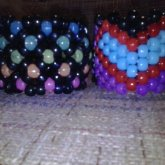 Dark Rainbow And 'Nightmare Heart' Cuffs.