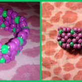 Purple + Green X-base Cuff