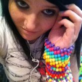 Me With Some Of My Kandi.