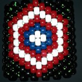 My Original Design For A Captain America Shield Cuff