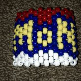 Pokemon Logo Cuff - Back