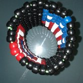 My Original Design For A Captain America Shield Cuff - Inside