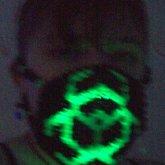 Kandi Mask W/ Glowstick