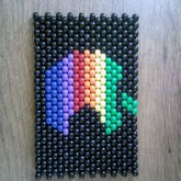 Rainbow Apple Panel